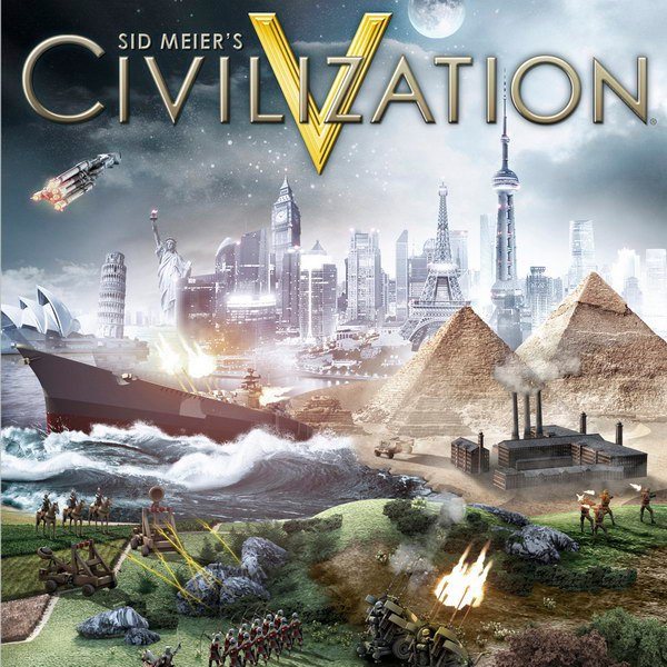 Обложка Sid Meier's Civilization V