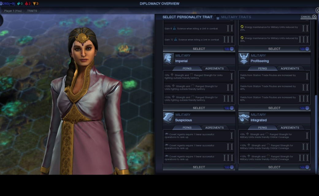 Civilization Beyond Earth — Преимущества в военном навыке для шпионажа