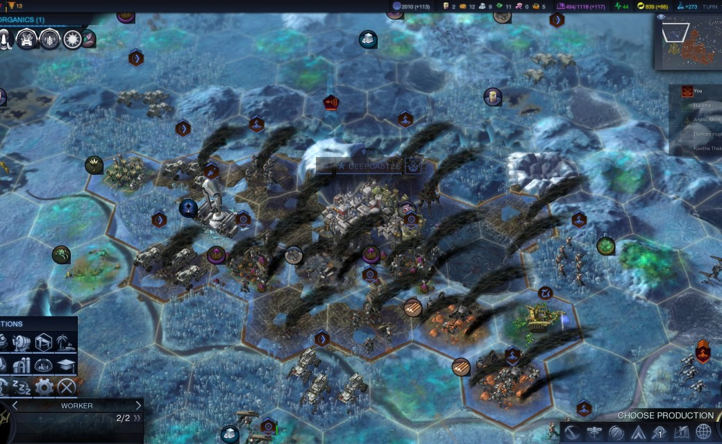 Civilization Beyond Earth — Саботаж в Дипкастл