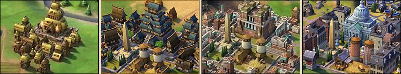 Городской центр в Sid Meier's Civilization VI