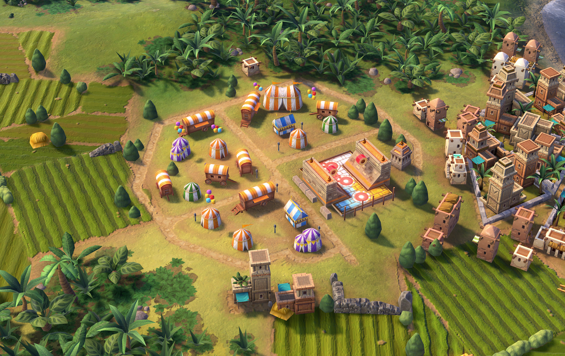 the building and the rise of civilization While districts serve as the larger building blocks on the road to victory personally, civilization vi: rise and fall has done a spectacular job.