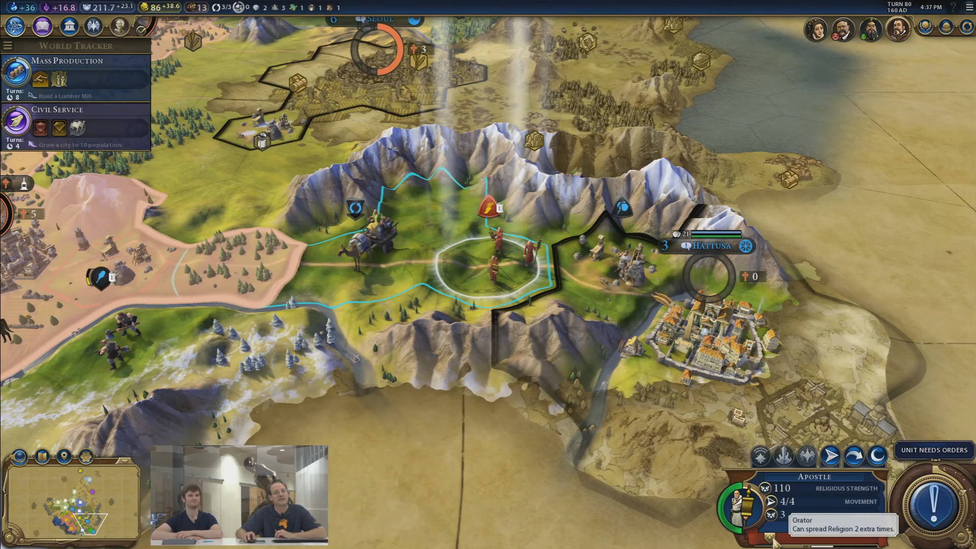 civ 6 how to change religion